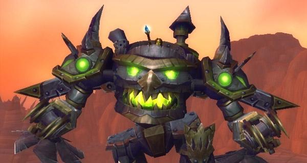 Extracteur de bois mécanique - Monture World of Warcraft