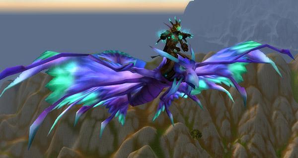 Faucon-dragon bleu - Monture World of Warcraft