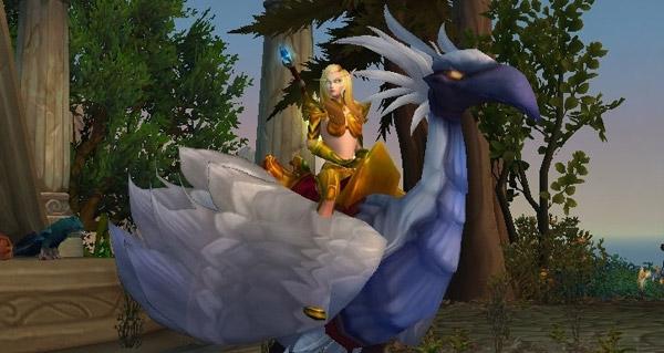 Faucon-pérégrin ivoire - Monture World of Warcraft