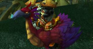 Faucon-pérégrin rouge - Monture World of Warcraft