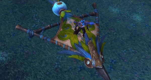 Ficelle de cerf-volant pandaren de jade monture WoW Mists of Pandaria