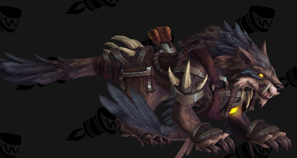 Gage de confiance de loup-faucon féroce - Monture World of Warcraft