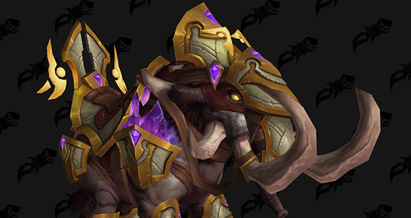 Gangrebroyeur béni monture WoW Legion