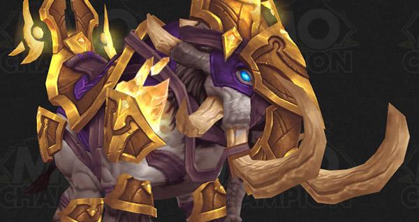 Gangrebroyeur glorieux - Monture World of Warcraft