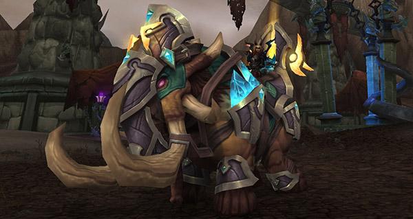 Gangrebroyeur vengeur - Monture World of Warcraft