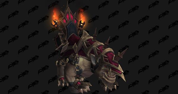 Gargon de bataille de Désir - Monture World of Warcraft