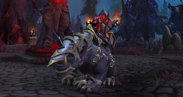 Gargon de bataille de Vrednic - Monture World of Warcraft