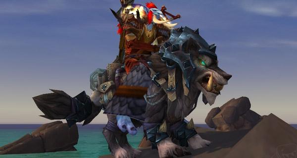Garn gueule-d'acier - Monture World of Warcraft