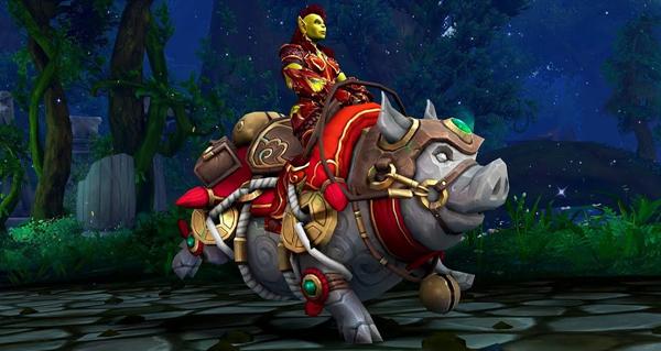 Gorus, cochon porte-bonheur - Monture World of Warcraft