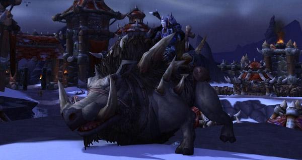 Grand grisebroche - Monture World of Warcraft