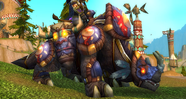Grand kodo marche-soleil - Monture World of Warcraft