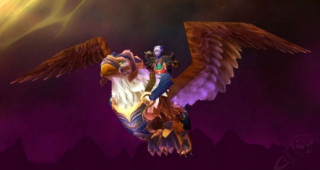 Griffon bleu rapide - Monture World of Warcraft