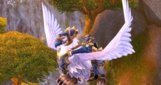 Griffon neigeux cuirassé - Monture World of Warcraft