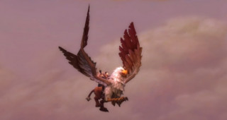 Grand griffon monture WoW Mists of Pandaria