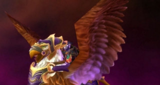 Griffon violet rapide - Monture World of Warcraft