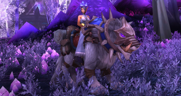 Grogneur loup-de-givre monture WoW Battle for Azeroth