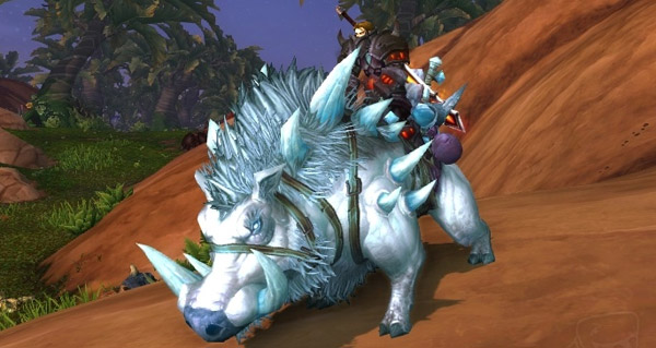 Groin-froid géant monture WoW Warlords of Draenor