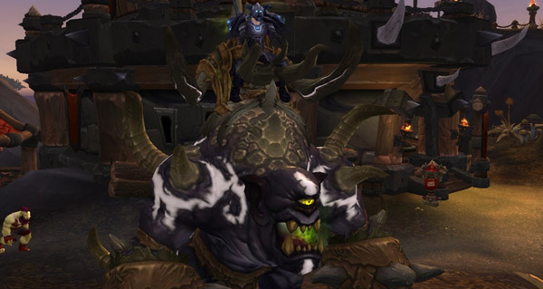 Gronnlin gangresang du gladiateur belliqueux - Monture World of Warcraft