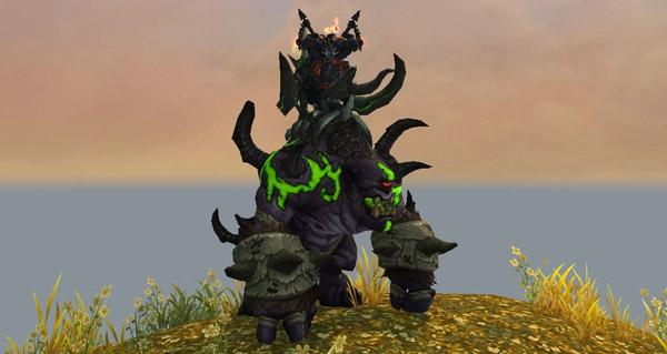 Gronnlin gangresang du gladiateur primordial - Monture World of Warcraft