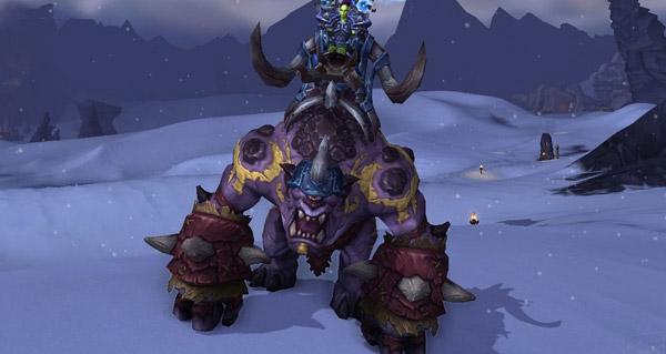 Gronnlin poing-de-charbon - Monture World of Warcraft