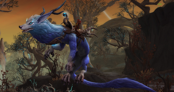 Harnais de lycodrac de Sylvarden - Monture World of Warcraft