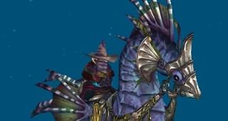 Hippocampe de Vashj'ir - Monture World of Warcraft