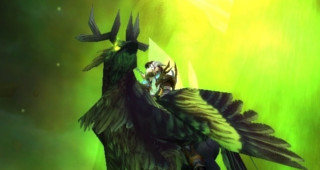 Hippogriffe corrompu - Monture World of Warcraft