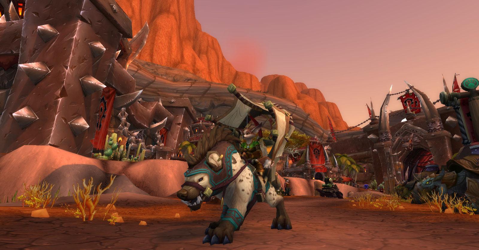 Hyène de caravane, monture du patch 8.3