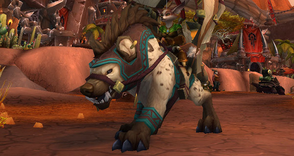 Hyène de caravane monture WoW Battle for Azeroth