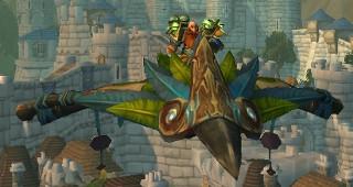 Ficelle de cerf-volant pandaren de jade - Monture World of Warcraft