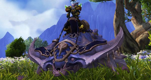 Krolusk azurécaille - Monture World of Warcraft