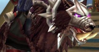 Loup bordeaux rapide - Monture World of Warcraft
