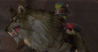 Cor du loup brun - Monture World of Warcraft