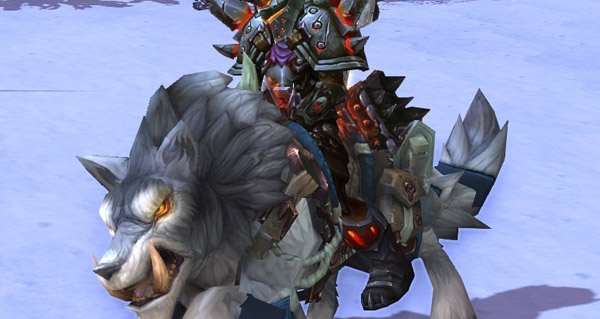 Loup-de-givre rapide monture WoW Warlords of Draenor