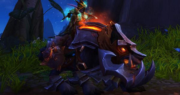Loup de guerre de seigneur des bêtes - Monture World of Warcraft