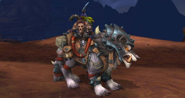 Loup de guerre flanc-de-fer monture WoW Warlords of Draenor
