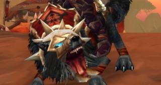 Cor du loup de guerre noir - Monture World of Warcraft