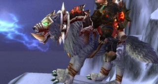 Loup d'Orgrimmar monture WoW Wrath of the Lich King