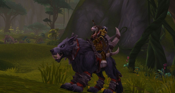 Loup redoutable mag'har monture WoW Battle for Azeroth