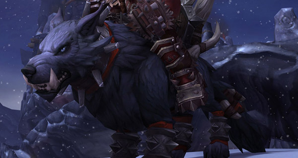 Loup redoutable mag'har - Monture World of Warcraft