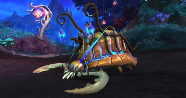 Mâche-prairie gueule-épine - Monture World of Warcraft