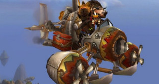Machine volante à turbo-injection - Monture World of Warcraft