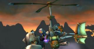 Machine volante monture WoW Burning Crusade