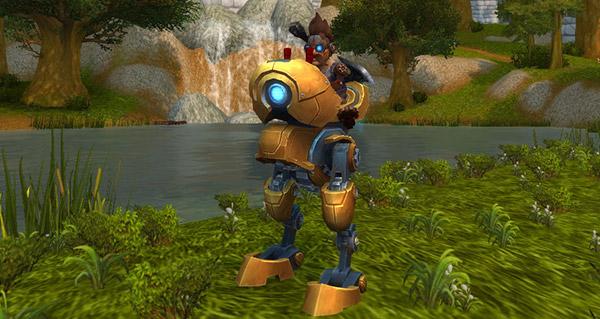 Mécanotrotteur de Mécagone - Monture World of Warcraft