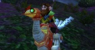 Mécanotrotteur rouge - Monture World of Warcraft