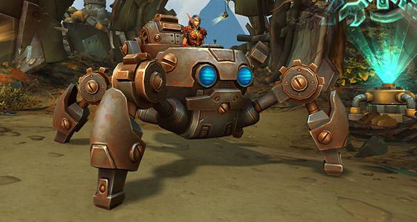 Mécaraignée rouillée - Monture World of Warcraft