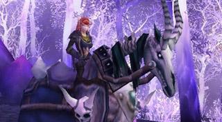 Rênes de destrier de la mort - Monture World of Warcraft