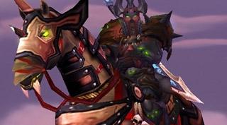 Rênes de cheval de guerre embrasé monture WoW Burning Crusade