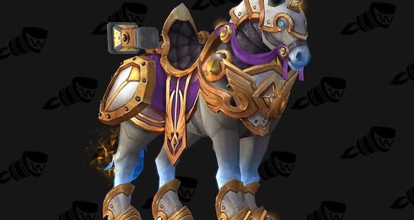 Destrier valeureux de généralissime - Monture World of Warcraft