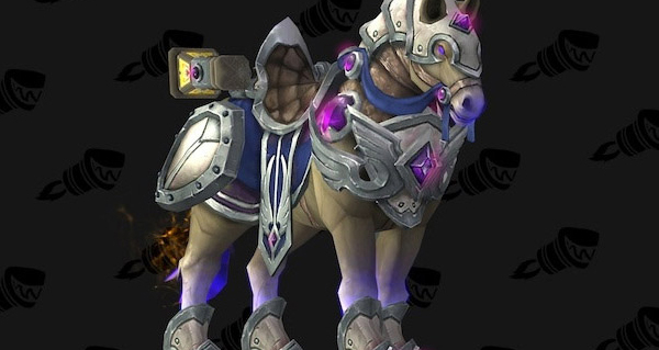Destrier vigilant de généralissime - Monture World of Warcraft